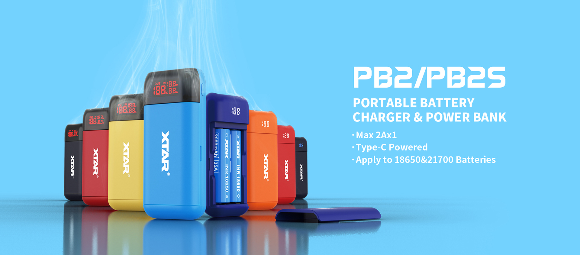 XTAR power bank charger new arrival PB2
